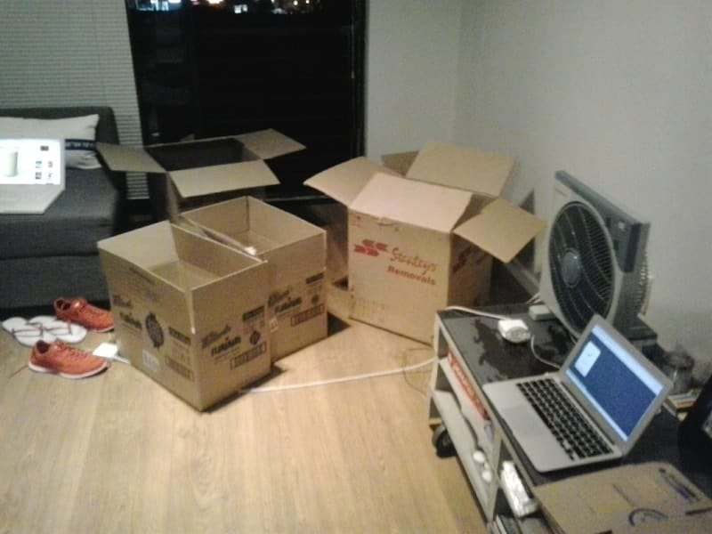minimalists on the move - moving mess2