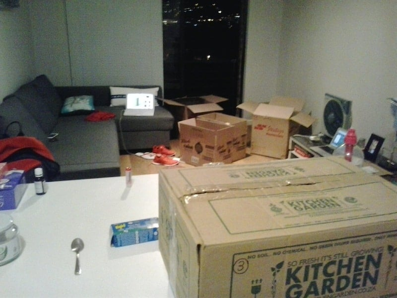minimalists on the move - moving mess 1