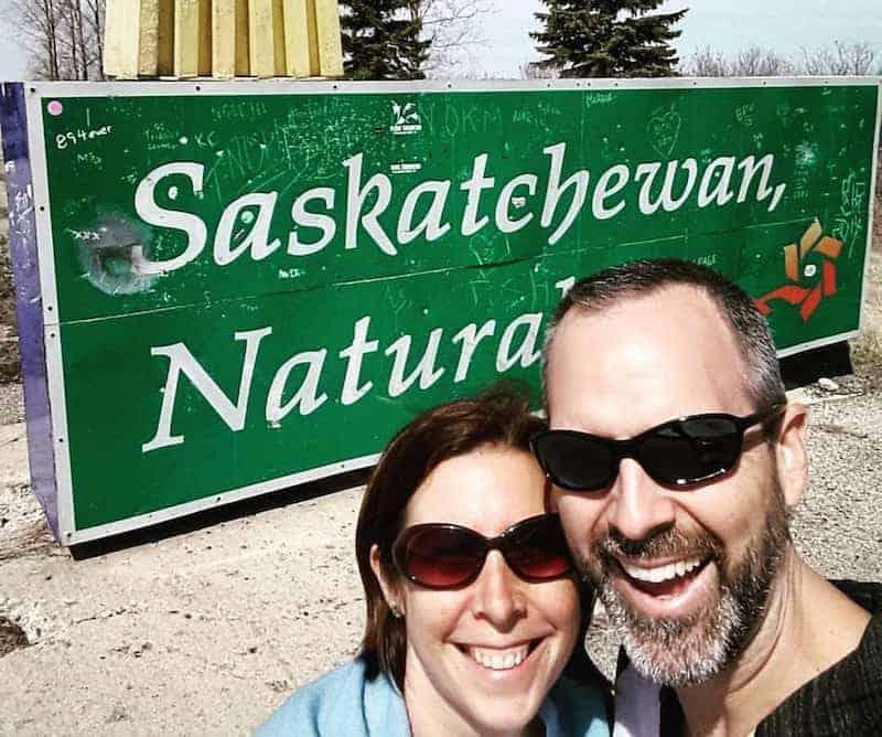 Al & Shelly in Saskatchewan