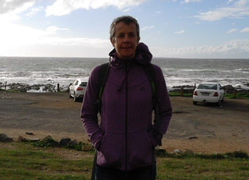 capsule wardrobe - purple hoodie