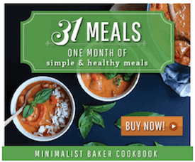 Minimalist Baker - 31 Meals ebook