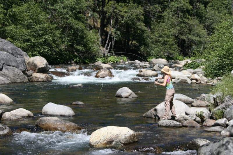 Tami Weiss - Fly Fishing in California