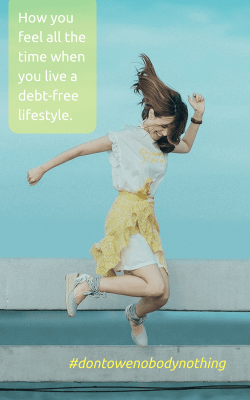 Living a Debt-Free Lifestyle: The Many Pros (and Two Potential Cons)