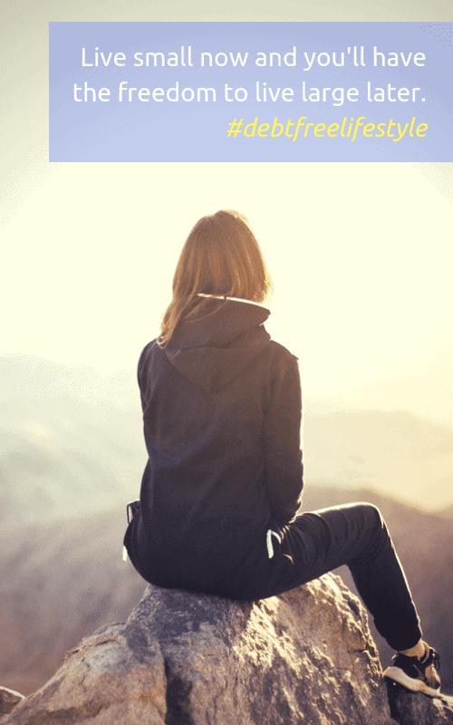 Living a debt-free lifestyle