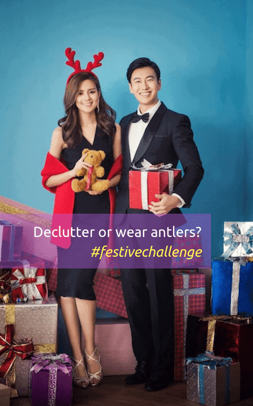 festive declutter challenge