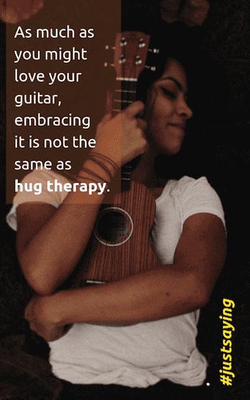 self care - hug therapy