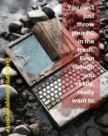 Sustainable Decluttering