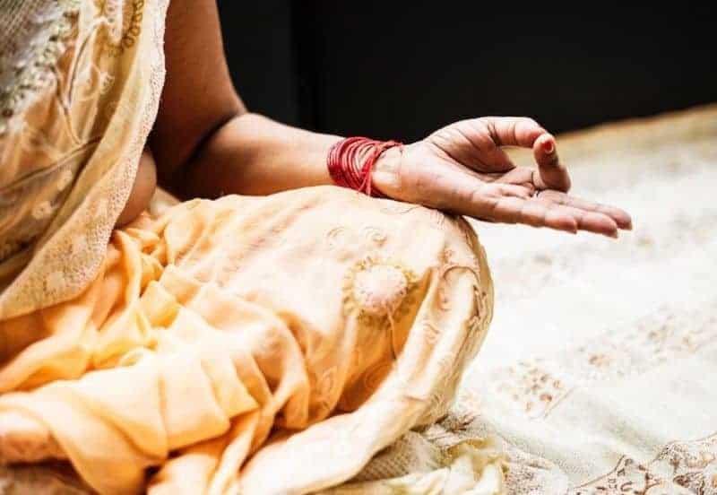 We're in Bangalore Meditating