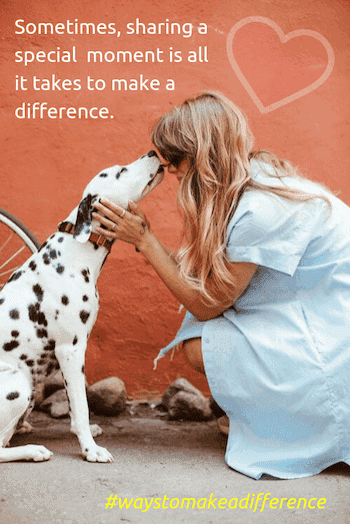 ways to make a difference