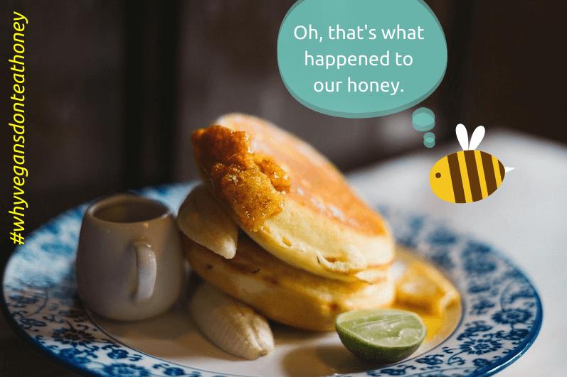 why vegans don't eat honey