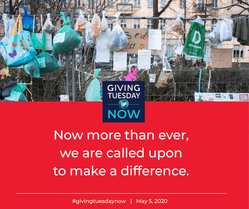 Giving Tuesday Now Make a Difference