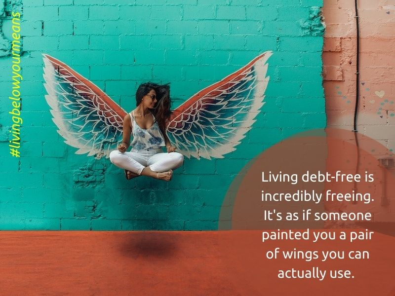 benefits of living debt-free