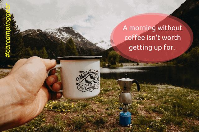 camping coffee gear