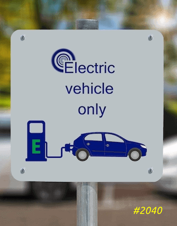 2040 the electric car race