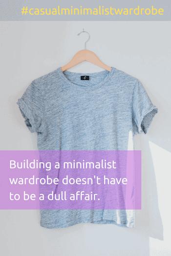 casual minimalist wardrobe